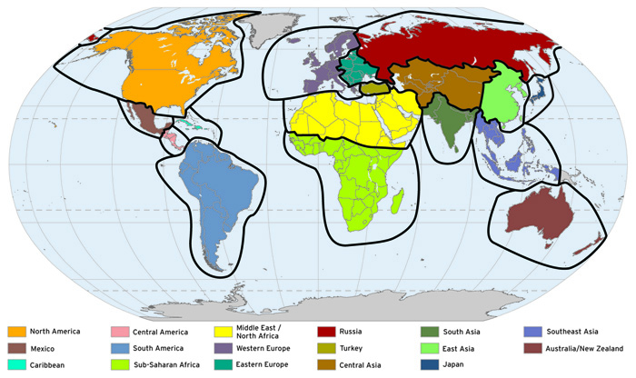 Lesson 2: World Regions and Theories of Uneven Economic ...
