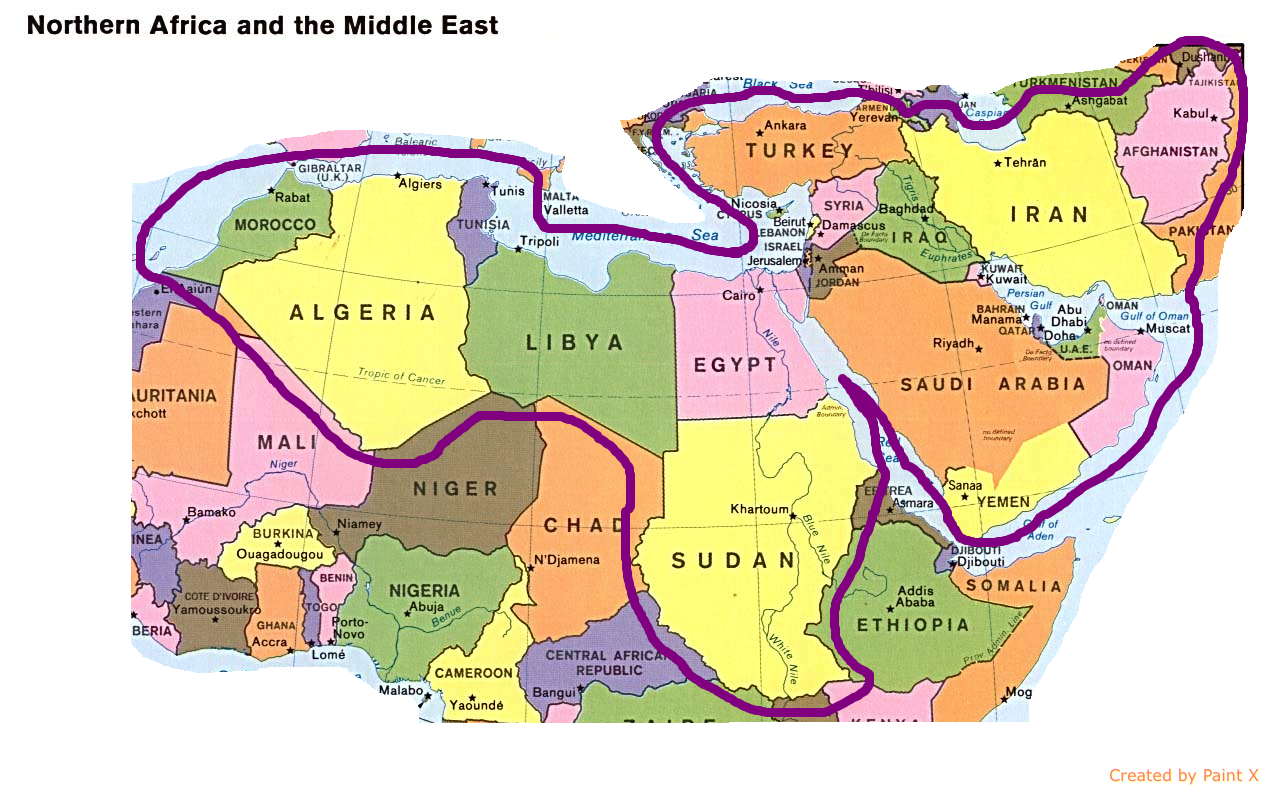 Lesson 10 Oil and Conflict in the Middle East  Geographical